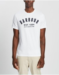 Barbour - Barbour Ridge Logo Tee