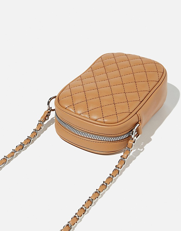 Women Hailey Mini Quilted Cross-Body Bag