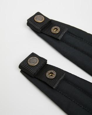 Fjallraven Kanken Shoulder Pads - Accessories (Black)