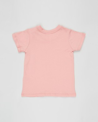 Cotton On Baby - Jamie Short Sleeve Tee   Babies - Clothing (Smoked Salmon & Change The World) Jamie Short Sleeve Tee - Babies