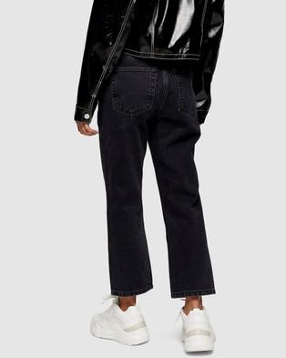 TOPSHOP Petite Petite Editor Jeans - High-Waisted (Black)