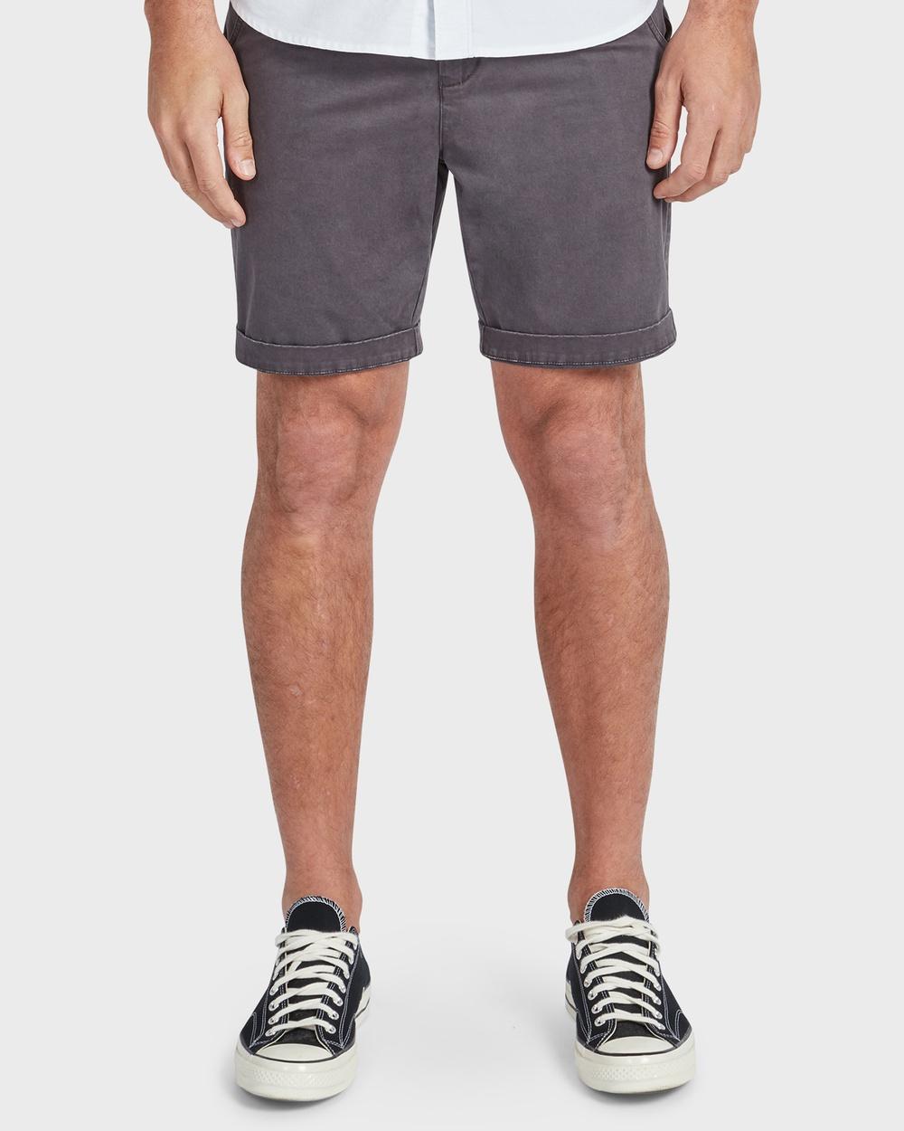 Academy Brand Cooper Chino Short Shorts Grey
