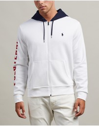 Polo Ralph Lauren - ICONIC EXCLUSIVE - Double-Knit Contrast Hooded Jacket