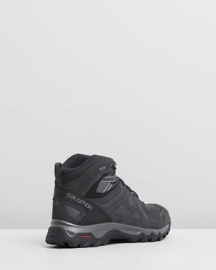Salomon Evasion 2 Mid Lighter GTX    Men's - Outdoor Shoes (Magnet, Phantom & Quiet Shade)