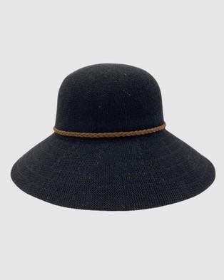 Jacaru Jacaru 1862 Sun Hat Round - Hats (Black)