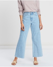 Assembly Label - High Waist Flare Jean