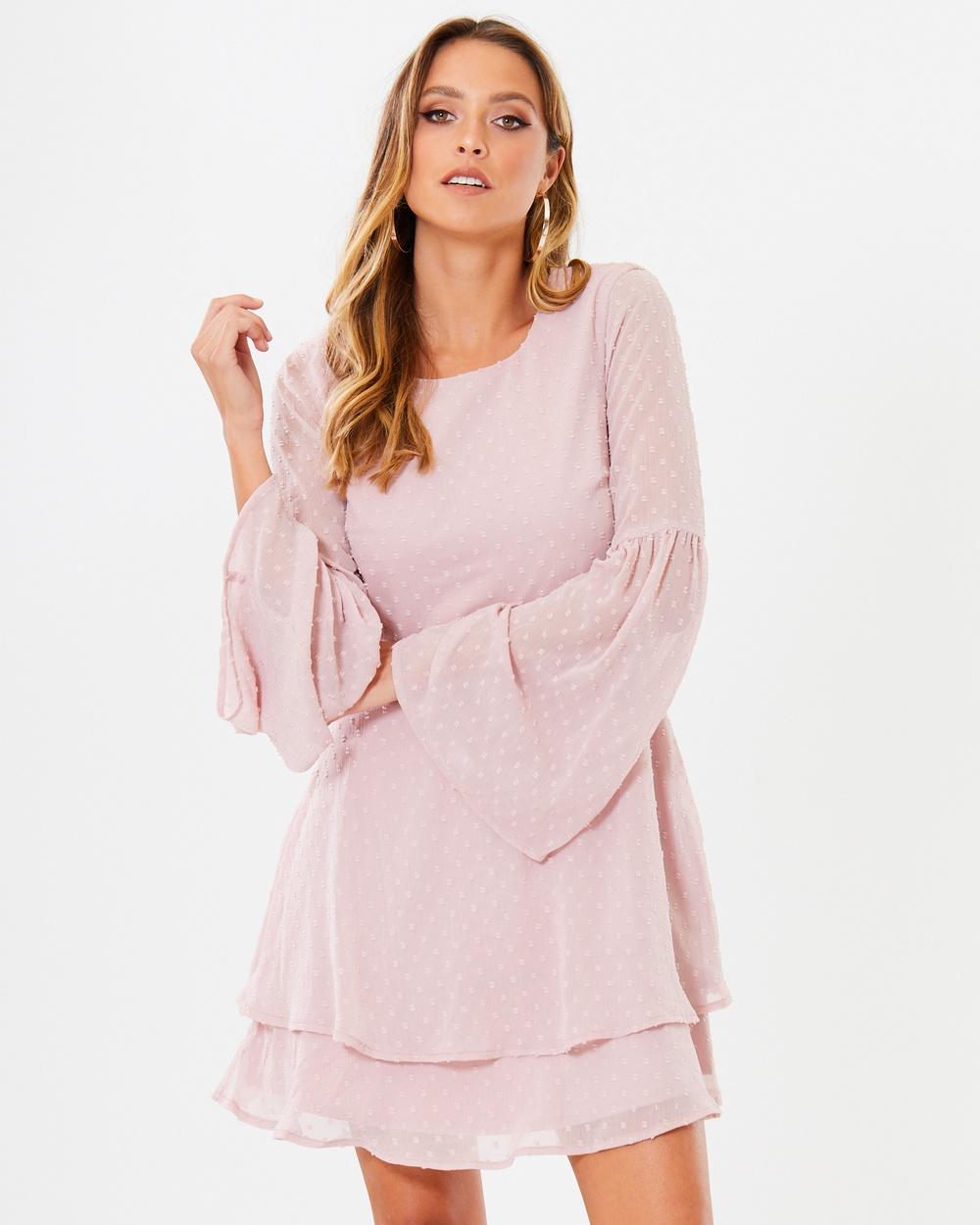 Calli Mackenzie Dress Dresses Dusty Pink Mackenzie Dress