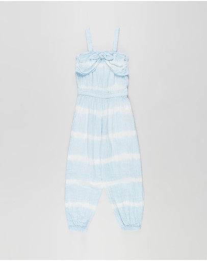 Cotton On Kids - Tully Tie Front Jumpsuit - Kids