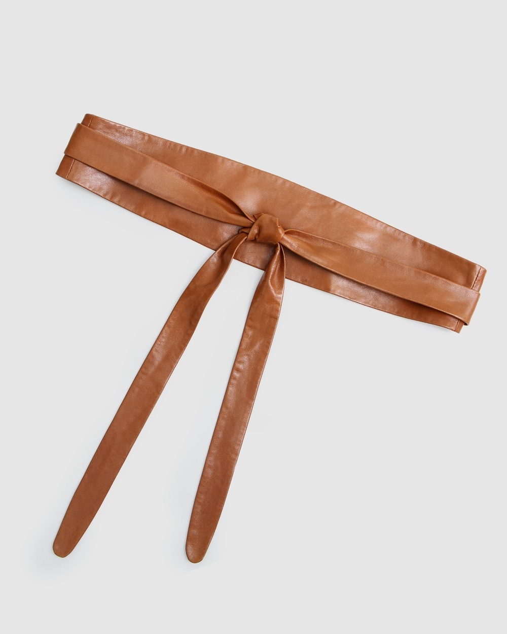 Belle & Bloom Odyssey Soft Wrap Leather Belt Belts Brown
