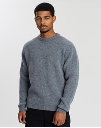 Albam - Ribbed Lambswool Crew Jumper