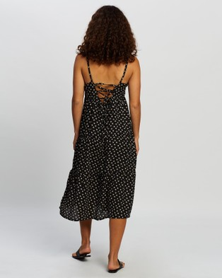 All About Eve Summer Ditsy Midi Dress - Printed Dresses (Multi-Coloured)
