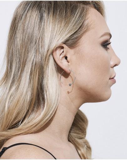 Pastiche Not Yet Light Earrings Silver