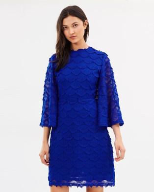 Livingstone Cooper – Nico Mini Dress Cobalt