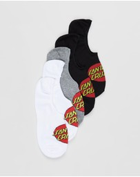 Santa Cruz - 5-Pack Classic Dot Socks