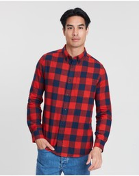 Burton Menswear - LS Check Shirt
