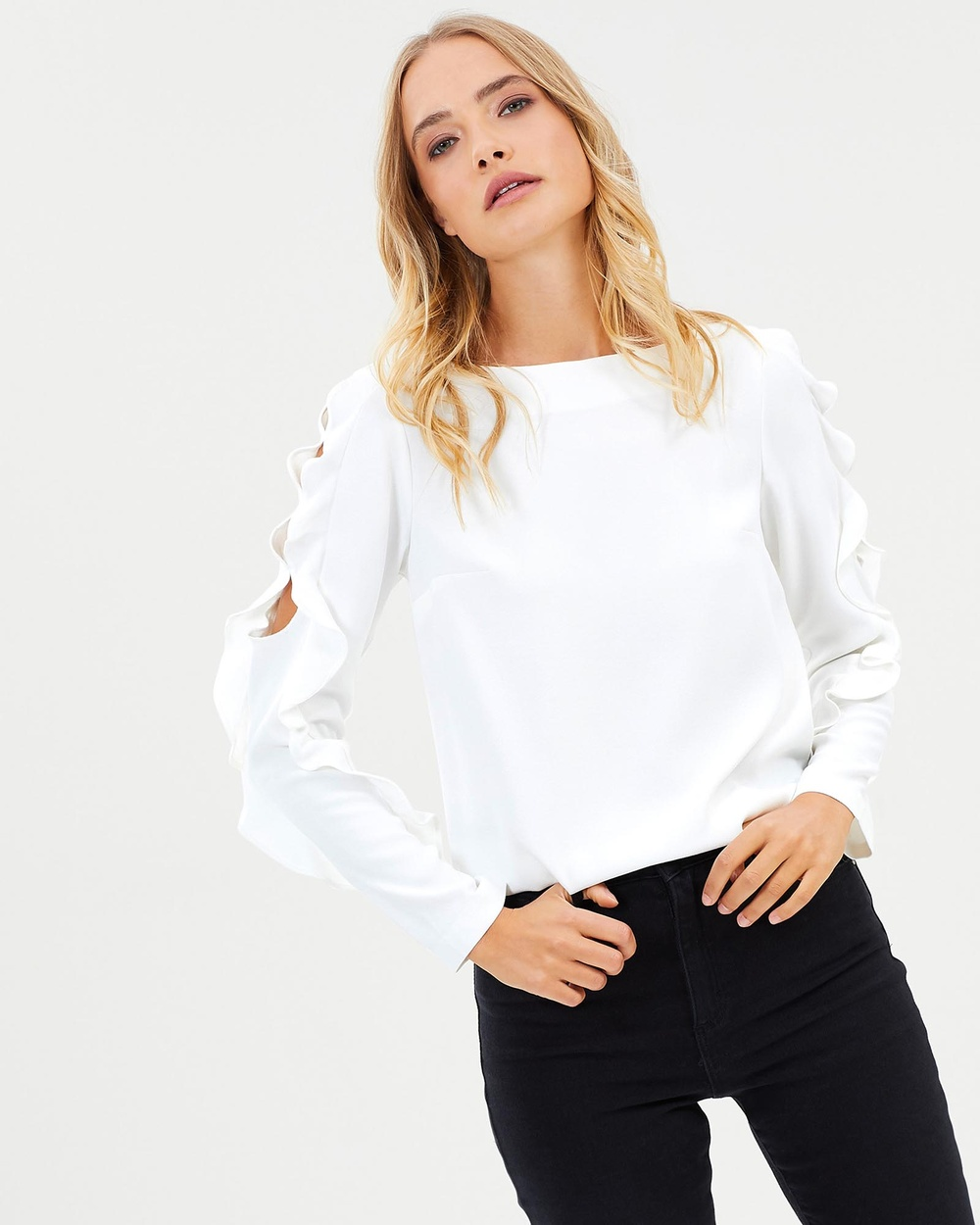 Stella Cold Heart Top Tops Milk Cold Heart Top