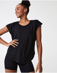 Cotton On Body Active - Active Scoop Hem T-Shirt