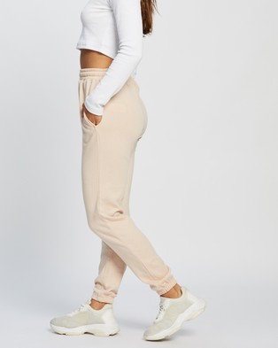 Missguided Basic Joggers - Sweatpants (Pink)