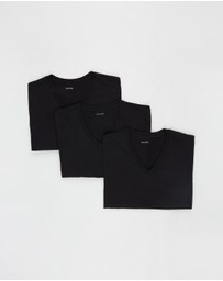 Calvin Klein - 3-Pack Cotton Classics V-Neck Tee