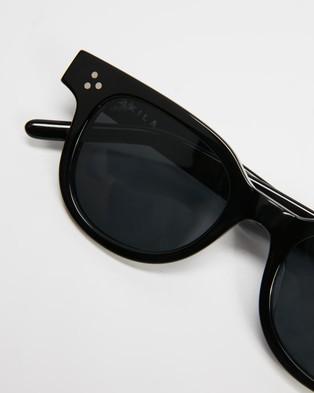 AKILA - Legacy Sunglasses (Black & Silver)