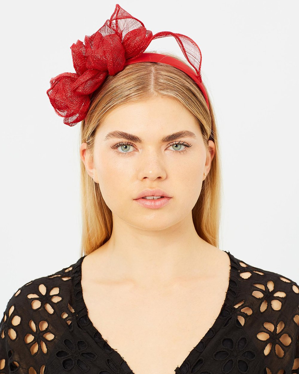 high quality coupon codes good service Flower Sinamay Crown Fascinator by Max Alexander Online | THE ...