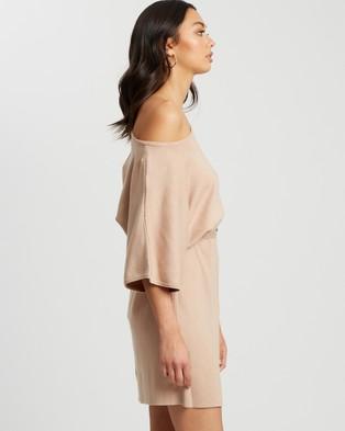 Tussah - Camina Knit Dress - Dresses (Nude) Camina Knit Dress