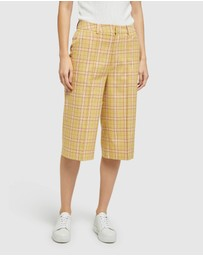 Oxford - Lottie Eco Check Culottes