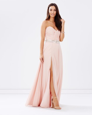 Homebodii – Formal Dress – Bridesmaid Dresses Pink DUsty Rose