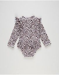 Cotton On Baby - Lucy Long Sleeve Swimsuit - Babies
