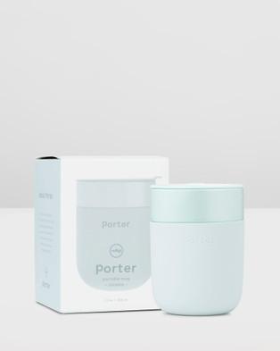 Porter Ceramic Mug 355ml - Home (Blue)