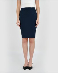 Forcast - Rose Pencil Skirt