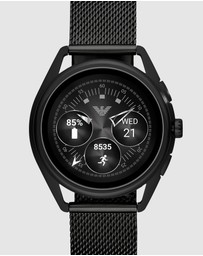Emporio Armani - Black Display Smartwatch
