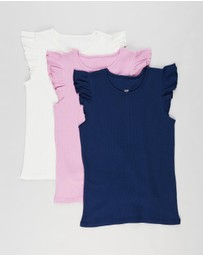 Cotton On Kids - 3-Pack Kaia Tank - Kids