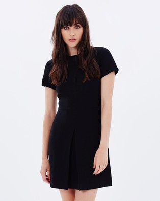 Warehouse – Box Pleat Dress