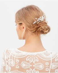 Ivory Knot - Anita Hair Comb
