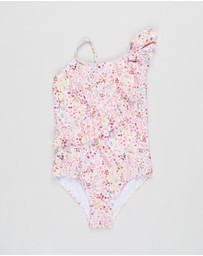 Bebe by Minihaha - Ruby Frill Swimsuit - Kids