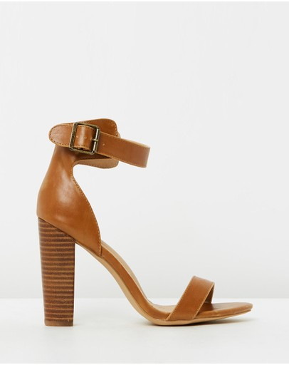 ICONIC EXCLUSIVE - Quill Buckle Heels