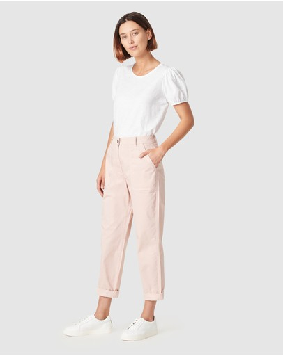 French Connection - Relaxed Cotton Pants