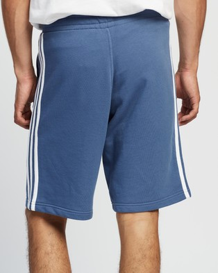 adidas Originals 3 Stripes Shorts Crew Blue 3-Stripes