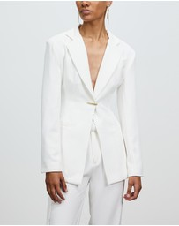 Nicola Finetti - Ruched Back Jacket