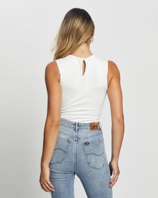 Atmos&Here Kayla Bodysuit - Tops (White)