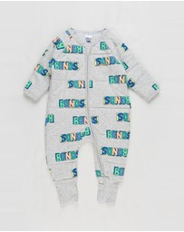 Bonds Baby - Padded Zippy Yardage - Babies