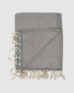 MAYDE Kirribilli Throw - Home (Grey)