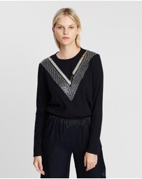 Sass & Bide - Moon Indigo Long Sleeve Tee