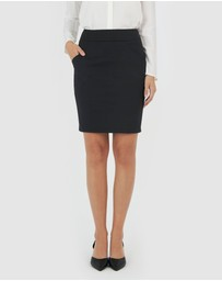 Forcast - Sandy Pencil Skirt