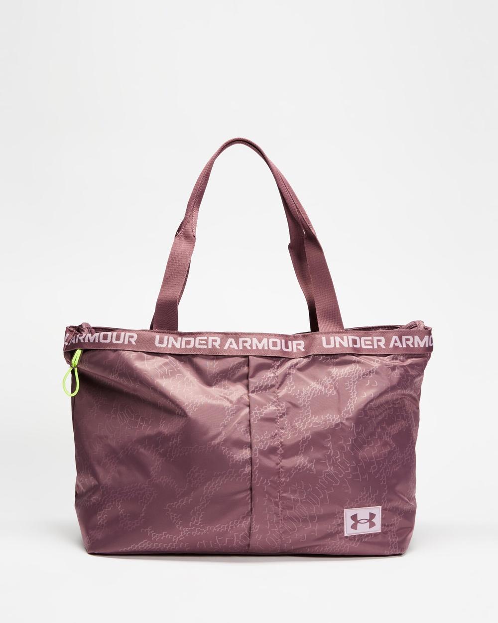 Under Armour Essentials Tote Bags Ash Plum & Mauve Pink