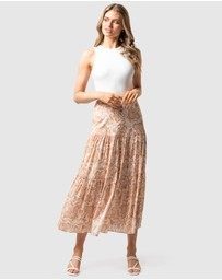 Forever New - Lilliana Tiered Maxi Skirt
