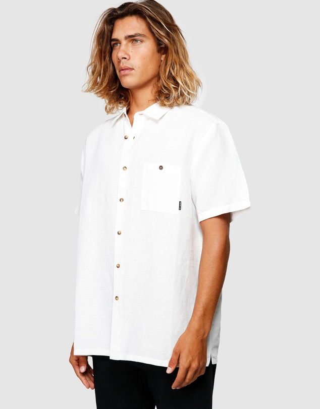 Billabong - Linen Short Sleeve Shirt
