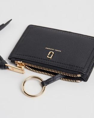 The Marc Jacobs Top Zip Multi Wallet - Wallets (Black)