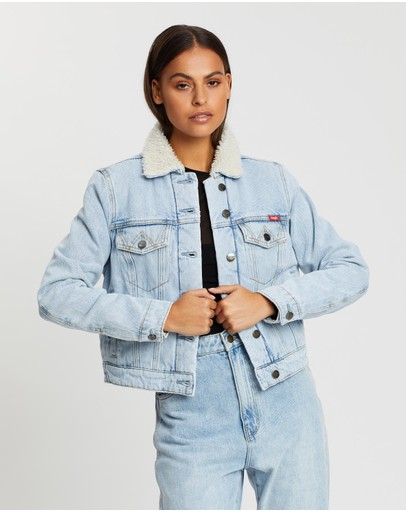 Wrangler - Denim Sherpa Jacket